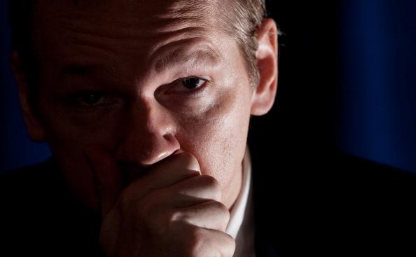 Fondatorul website-ului Wikileaks, Julian Assange.