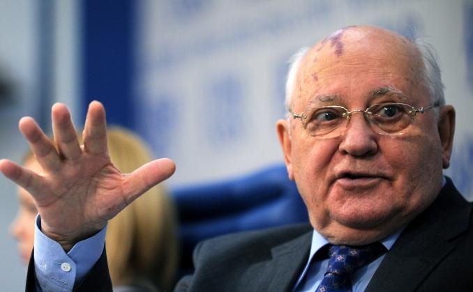 Fostul preşedinte sovietic Mihail Gorbaciov.