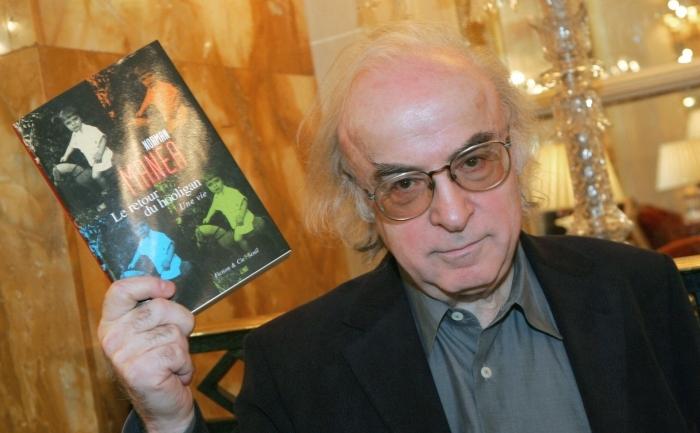 Scriitorul roman Norman Manea, recompensat in  2006 cu premiul 'Medicis Etranger' pentru cartea 'Intoarcerea  huliganului' ('Le Retour du hooligan'). (JACK GUEZ / AFP / Getty  Images)