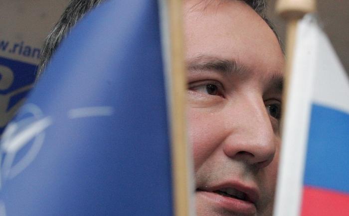 Vicepremierul rus, Dmitri Rogozin. (ALEXANDER NEMENOV / AFP / Getty Images)
