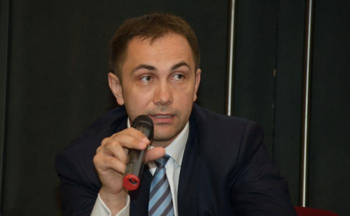 Lucian Isar, ministrul delegat pentru mediul de afaceri (Mihut Savu / Epoch Times)