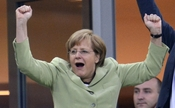 Cancelarul german, Angela Merkel. (FABRICE COFFRINI / AFP / GettyImages)