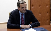 Premierul grec, Antonis Samaras. (ARIS MESSINIS / AFP / GettyImages)