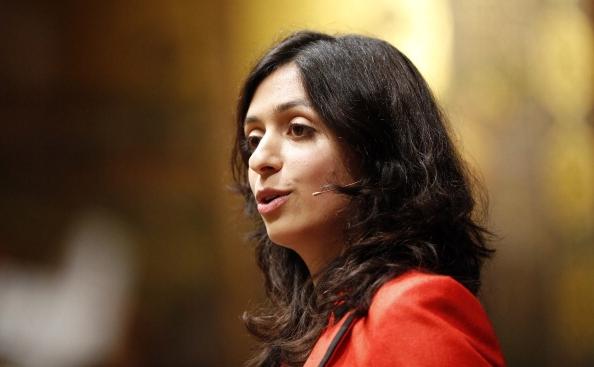 Ministrul culturii din Norvegia, Hadia Tajik. (CORNELIUS POPPE/AFP/GettyImages)