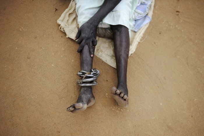 Femeie din Sudan, închisă în puşcăria din Juba, Sudanul de Sud (- / AFP / Getty Images)