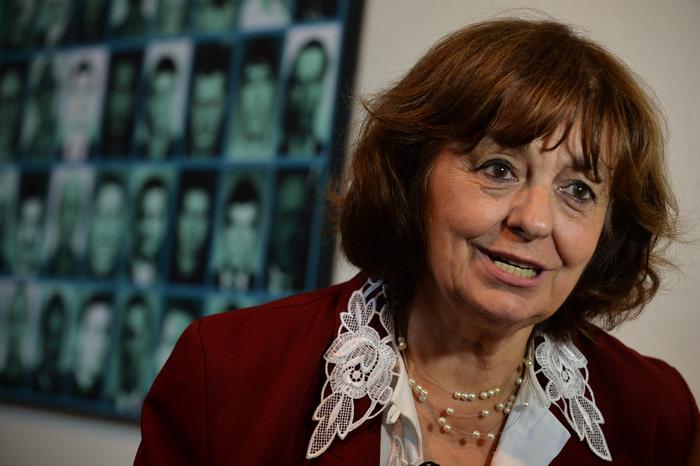 Ana Blandiana la Muzeul Memorialului de la Sighet, 14 iulie 2013