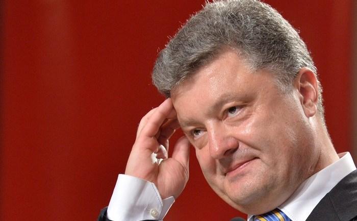 Preşedintele Ucrainei, Petro Poroşenko ( SERGEI SUPINSKY/AFP/Getty Images)