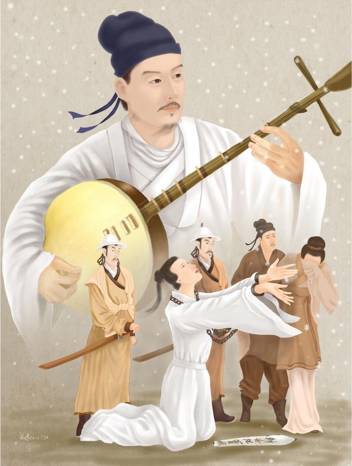 Guan Hanqing, cel mai mare scriitor de drama clasică chineză (SM Yang / Epoch Times)