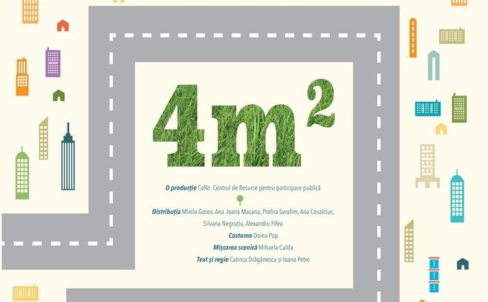 Piesa de teatru 4 m2 se joacă în premieră în Lacul Tei. (Facebook)