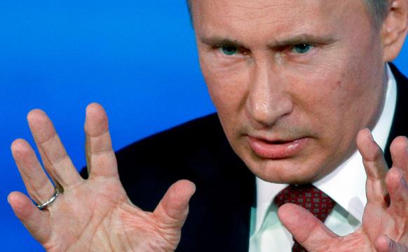 Preşedintele rus, Vladimir Putin. (Captură Foto)