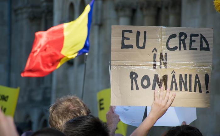 Protest pentru salvarea pădurilor, Piaţa Universităţii, 7 iunie 2015 (Eugen Horoiu/Epoch Times România)