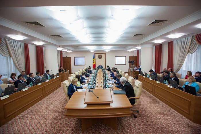 Guvernul Streleţ, şedinţa cabinetului de miniştri