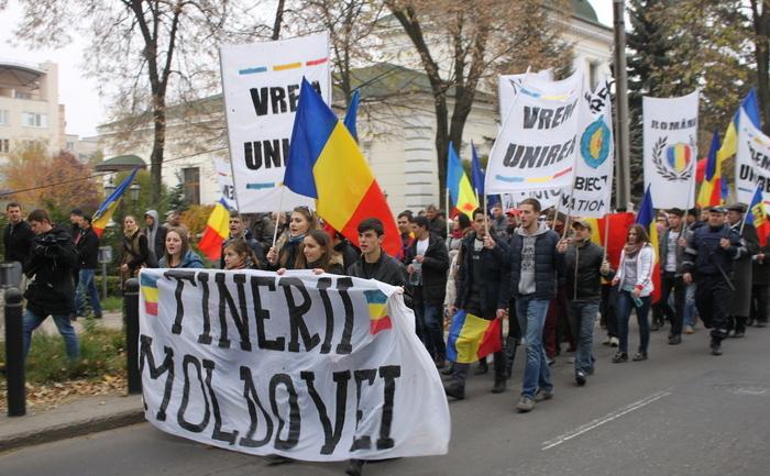 Marş pentru Unire la Chişinău, 8 noiembrie 2015