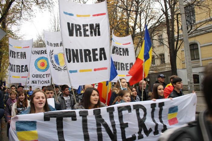 Marş unionist la Chişinău