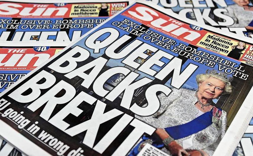Ziarul britniac The Sun.