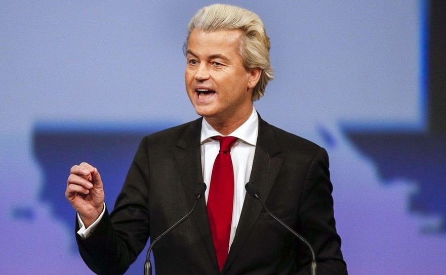 Politicianul olandez Geert Wilders.