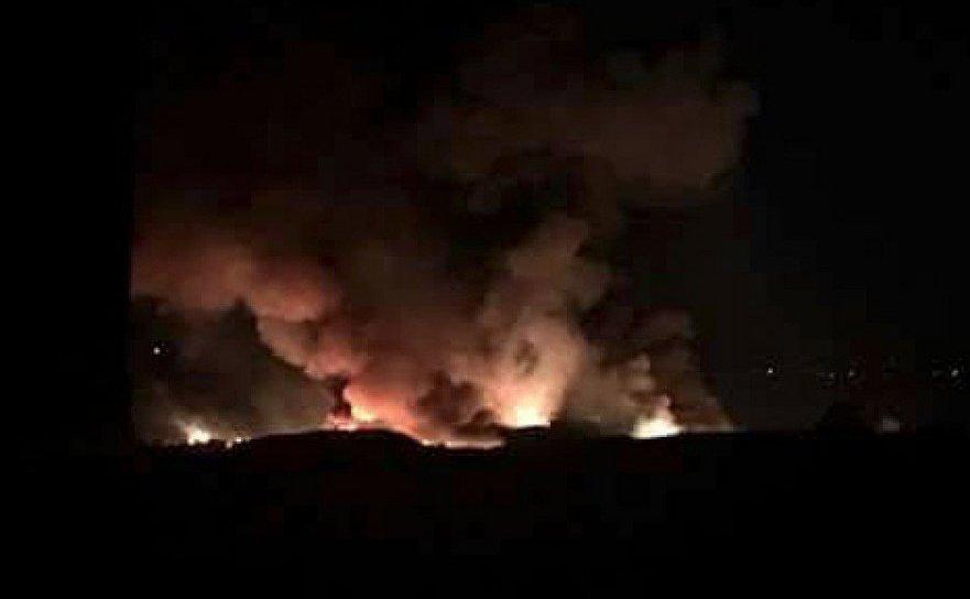 Rachete israeliene bombardează un aeroport militar din Damasc