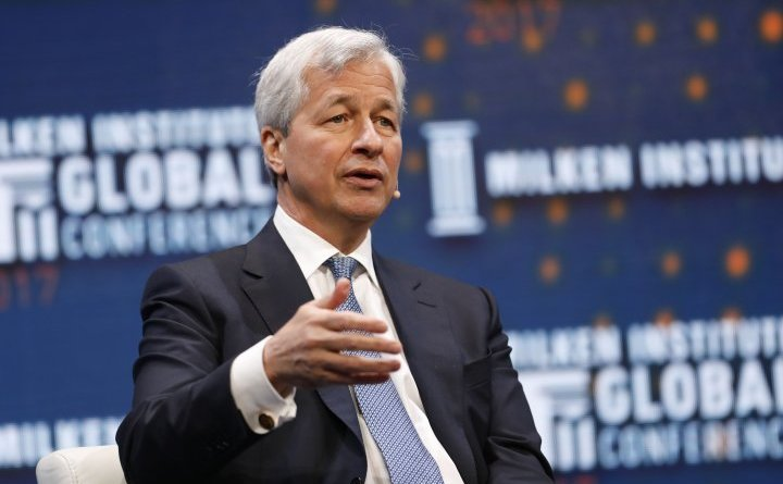 Directorul general al JP Morgan, Jamie Dimon.
